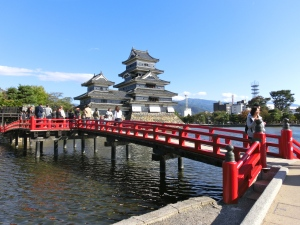 Matsumoto Castle; Japan's oldest wooden castle