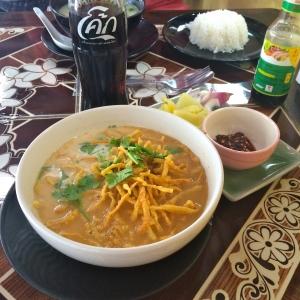 Chicken khao soi from Mr Kai's